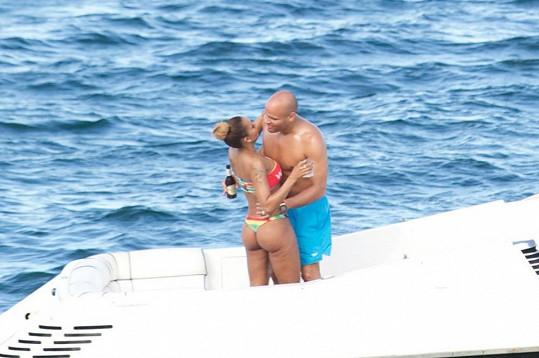 Mel B a Stephen Belafonte byli jako čerstvě zamilovaný pár.
