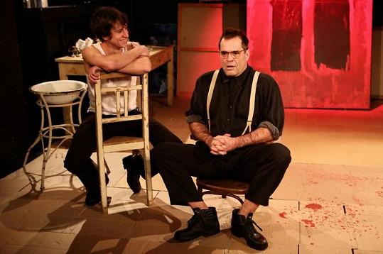 Miroslav Etzler a Martin Kraus spolu hrají už i v divadle.