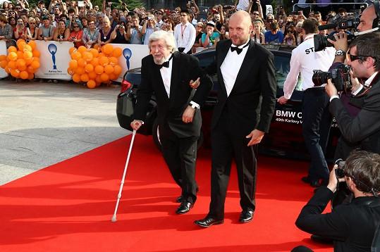 Režisér David Ondříček se svým otcem Miroslavem.