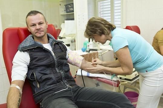 Braňo Polák daruje krev pravidelně.
