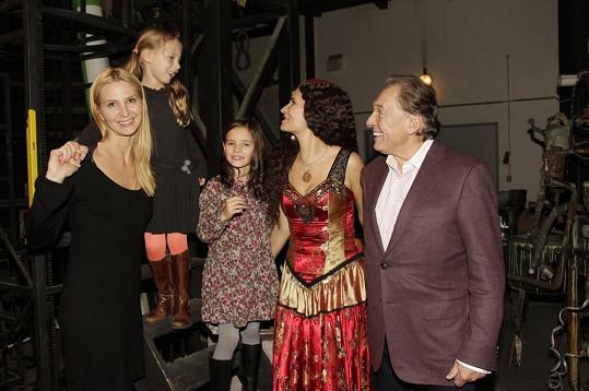 Rodinka Gottova si na Zorrovi užila příjemný večer.