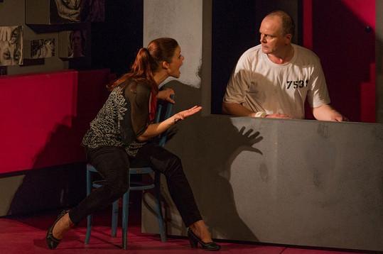 Igor Bareš a Antonie Talacková hrají v divadle rozvedený manželský pár.