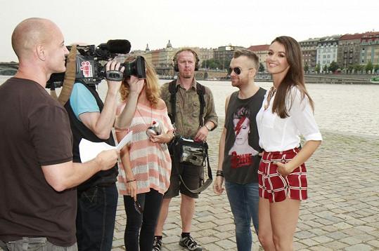 Byli jsme u premiérového natáčení Top Staru Ivy Kubelkové.