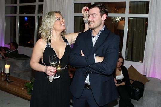 Kateřina Šlégrová s údajným novým milencem Michalem.