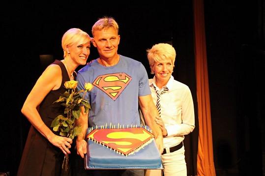 Renata s Martinem Maxou a Marcelou Březinovou
