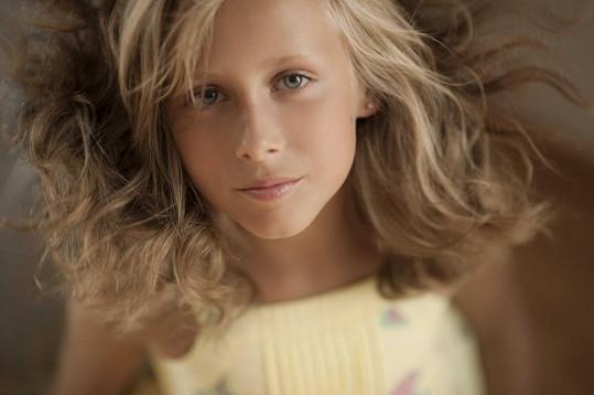 Mladší sestra Lucie Natálka