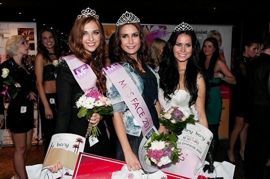 Vítězky Miss Face 2012.