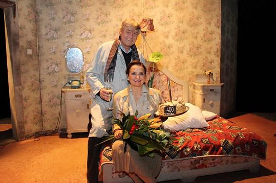 Veronika Freimanová a Zdeněk Žák