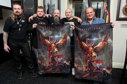 Láďa Křížek pokřtil s kapelou Kreyson nové album.