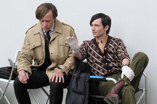 První natáčecí den hrál Roden s Jaroslavem Pleslem.