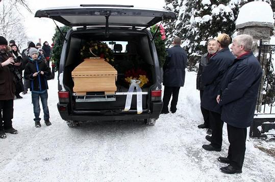 Dnes se konalo poslední rozloučení s Jiřinou Jiráskovou.