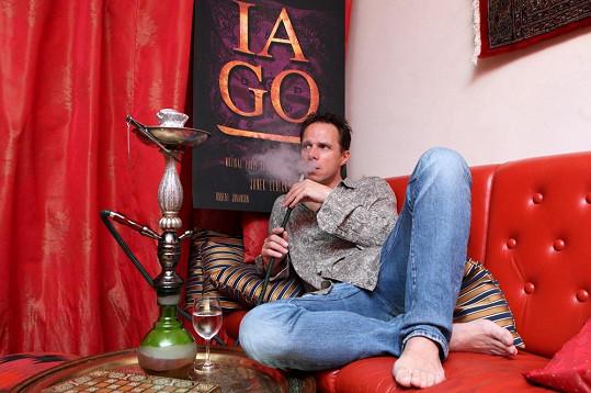 Po návratu čeká Ledeckého práce na muzikálu Iago.