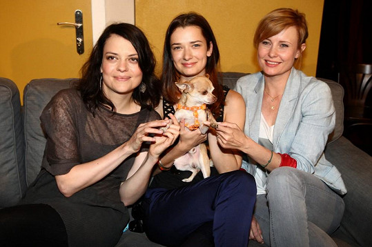 S kolegyněmi Marikou Šoposkou a Jitkou Schneiderovou