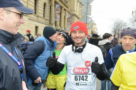 Dalibor Gondík se zúčastnil půlmaratonu.