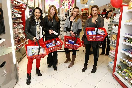 S Heidi jsme si povídali na akci, kde svým prvním nákupem podpořila s dalšími osobnostmi 5. ročník charitativního projektu 5.000.000 Kč pro dětský úsměv.