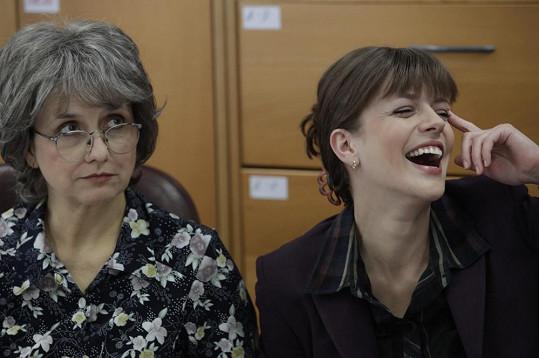 Andrea Kerestešová s Veronikou Freimanovou, která je nominovaná na cenu Týtý.