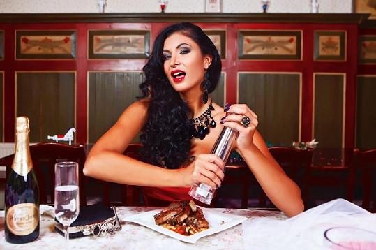 Finalistka České Miss 2009 je prý velký jedlík.
