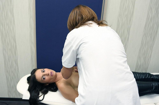 Před operací se nechala Kynychová mamologicky vyšetřit.
