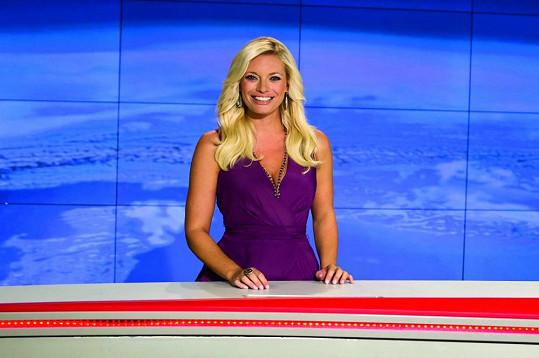 Lucie Borhyová je nejpopulárnější ženou Novy.