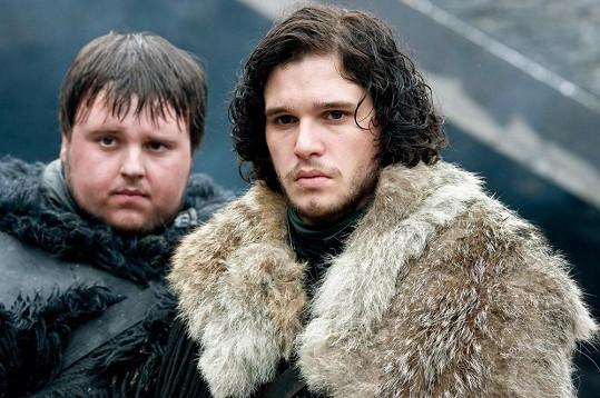 Harington jako Jon Snow ve Hře o trůny