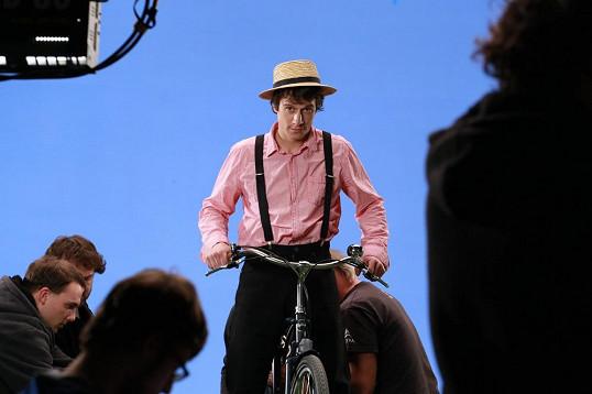 český Belmondo si zahraje v novém primáckém seriálu.