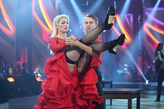 Anna Polívková a Michal Kurtiš to ve StarDance pořádně rozjeli.