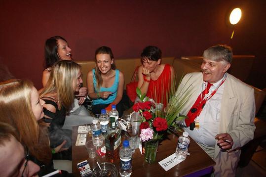 Ivan Jonák na první párty v Discolandu po osmnácti letech.