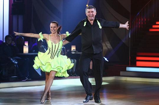 Imrich Bugár a Jitka Šorfová to dotáhli mezi čtyři nejlepší páry soutěže.