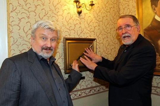 Obdivovateli čar a magie jsou i Jan Cimický a Eduard Hrubeš.