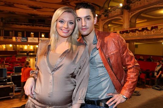 Lucie Borhyová a Michal Hrdlička se opět objevili ve společnosti.