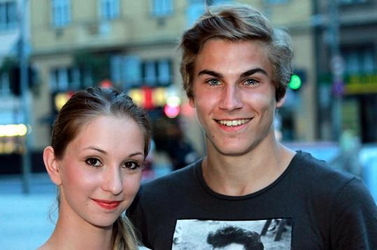 David Gránský s přítelkyní Nikolkou.