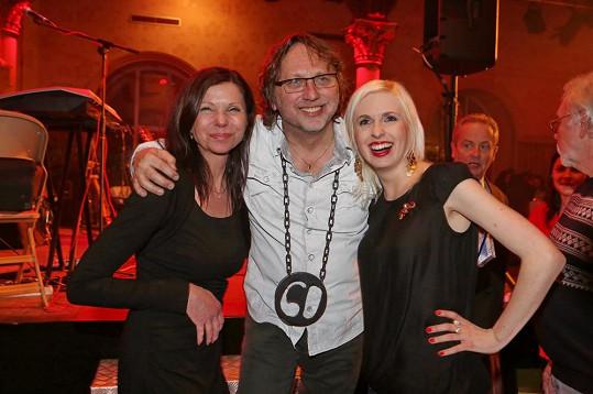 Dalibor Janda si svou narozeninovou párty užil.