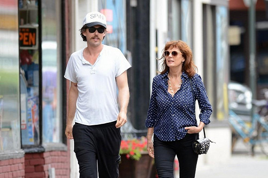 Susan se svým partnerem Jonathanem Bricklinem