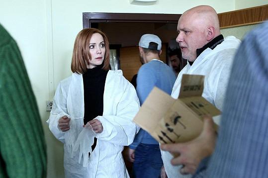 Markéta Plánková v seriálu Mordparta