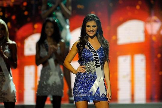 Valerie Gatto soutěžila o titul Miss USA.
