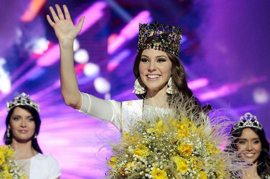 Nová držitelka titulu Miss Slovensko Laura Longauerová