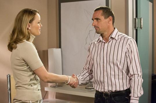 V seriálu si zahrál VIP pacienta.