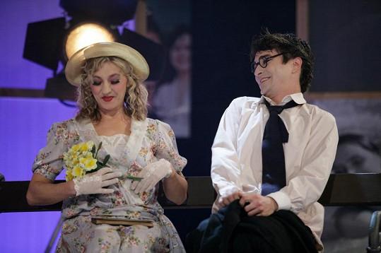 Společná scénka v pořadu Hvězda mého srdce (2008)