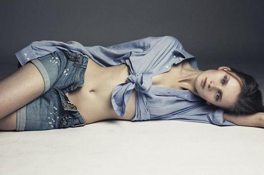 Lenka Hanáková má dokonalé tělo.