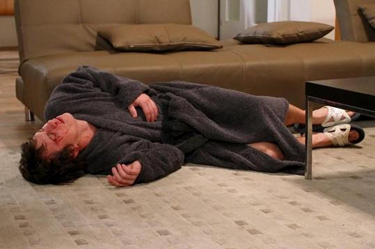 Martin Kraus v seriálu Cesty domů dostane nakládačku.