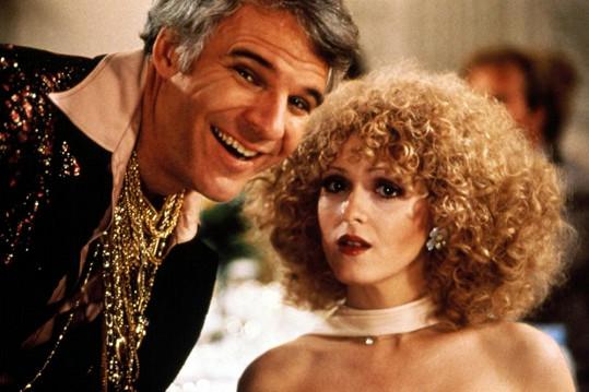 Peters s kolegou Stevem Martinem v komedii Cvok
