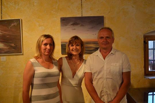 S majiteli galerie, manželi Novákovými