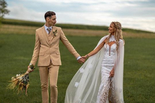 Finalistka České Miss se provdala.