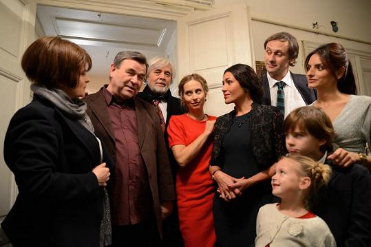 Šafránková a Abrhám opět spolu před kamerou.