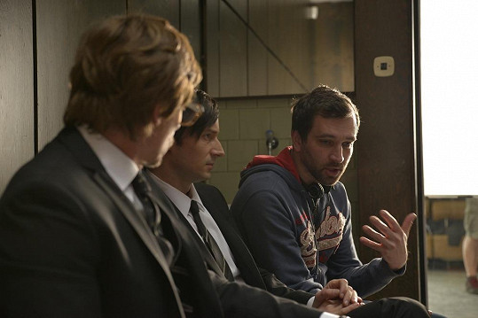 Režisér Sokol vysvětluje svou vizi.