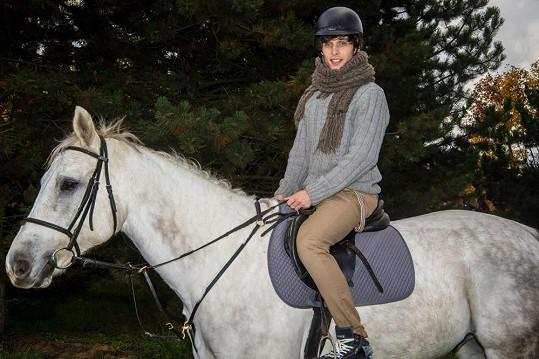 Roman Tomeš je zkušený jezdec.