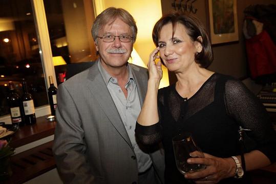 Veronika i Vladimír září štěstím.