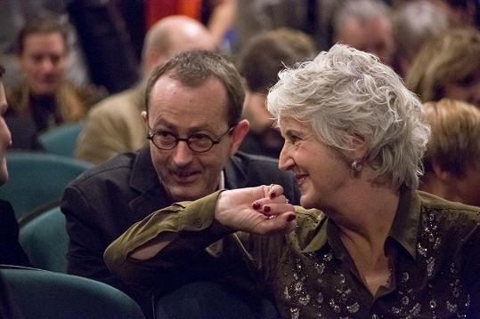 Maria Goos s režisérem Petrem Zelenkou