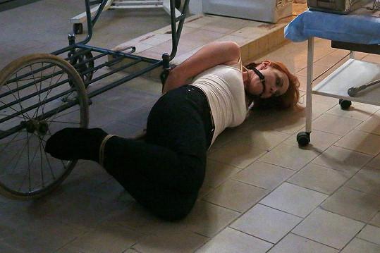 Markéta Plánková se v seriálu Mordparta ocitla u šíleného vraha.