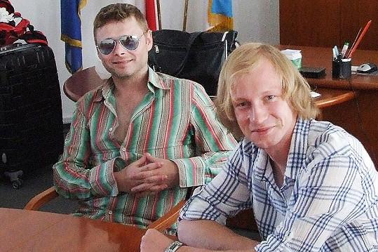 Jarek Šimek do Petrohradu létá i se Zbyňkem Drdou.